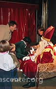 After the circus families may meet Saint-Nicolas for pre-arranged treats