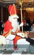 Sinterklaas welcomed Dutch and Indian students and alumni who had been international students in India and the Netherlands