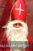 St Nicholas ready to greet individual children