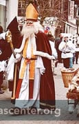 Samichlaus in the afternoon children's parade, 5 December