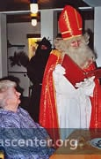 Nikolaus visits senior adults as well as children