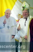 St. Nicholas with Pope Francis
