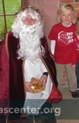 Photos with Saint Nicholas