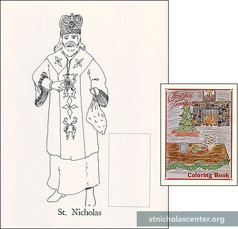 IChristmas Traditions Coloring Book I To Be Filled In With