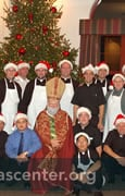 Deacon Class, who served, with St. Nicholas