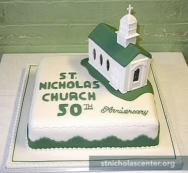Church Anniversary Cake Images : St. Nicholas Center