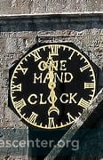 One hand clock, a reminder that time was once counted in hours, not minutes