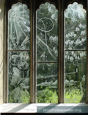 Etched glass windows uk