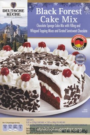 Black Forest Cake Mix Aldi