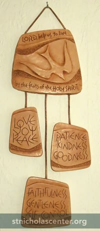 Fruits of the Spirit Plaque