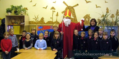 St. Nicholas with class
