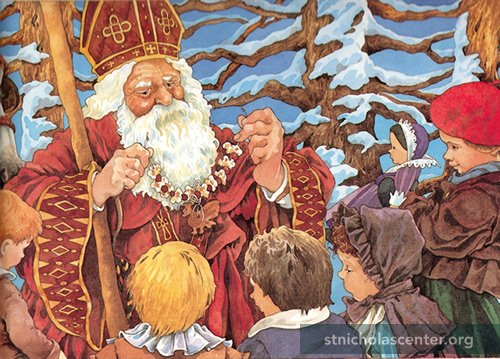 St Nicholas illustration