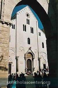 Basilica di San Nicola across the piazza