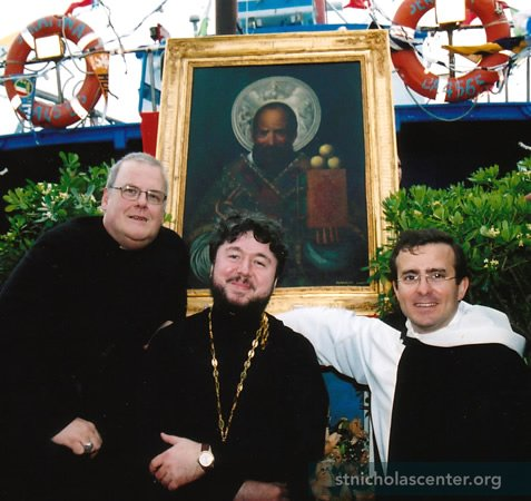 St Nicholas Icon Painting Goes to Sea