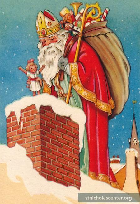 St. Nicholas Center ::: Good-bye Santa! Hello, St Nick!