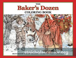 Bakers Dozen coloring book