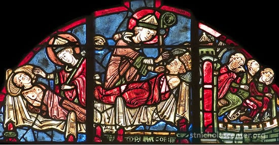 St Nicolas, Bourges Cathedral, Photo © Stuart Whatling