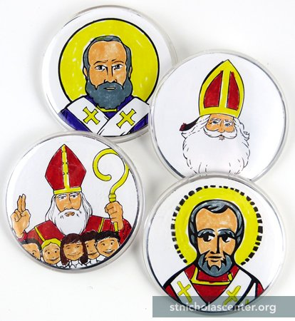 St  Nicholas Center ::: Make your own buttons