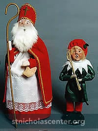 Saint Nicholas and Knecht Ruprecht