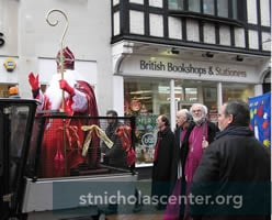 St Nicholas in parade