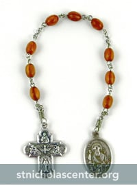 Chaplet with St Nicholas medal