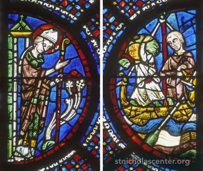St Nicolas, Chartres Cathedral, Photo © Gordon Plumb