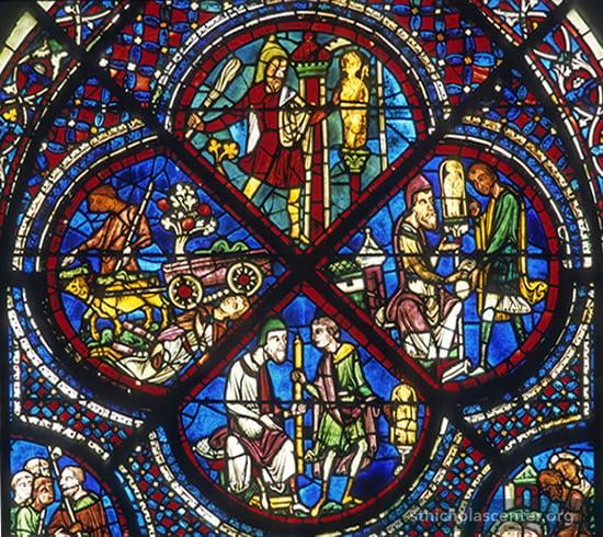 St Nicholas Center Medieval Glass I