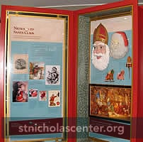 St Nicholas to Santa Claus cases