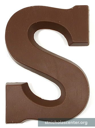 St Nicholas Center  Chocolate Letters