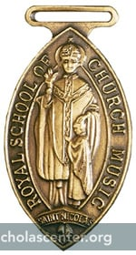 Royal School of Church Music Medal