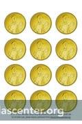 photograph relating to Printable Coins Pdf identify St. Nicholas Cash ::: St. Nicholas Heart
