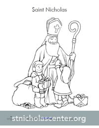 St. Nicholas Center ::: Preschool Lesson