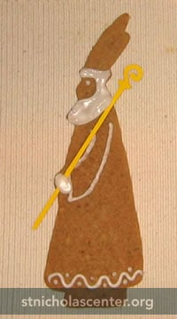 St Nikolaus Cookie