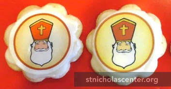 Edible St Nicholas Cookie toppers