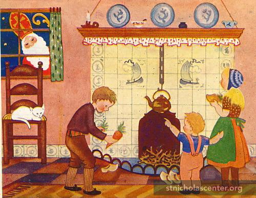 День Святого Миколая (сценарій для дітей 5-6 років)