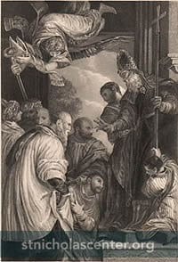 Consecration of Saint Nicholas
