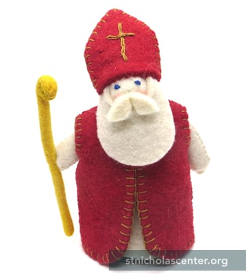 St Nicholas Figure - Ornament