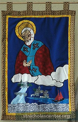St Nicholas and the sea