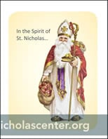 Saint Nicholas Alternate Gift Card