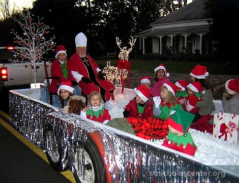 Christmas Church Float Ideas http://www.stnicholascenter.org/pages/other-times/