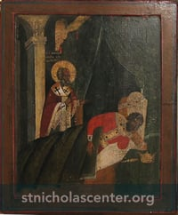 St. Nicholas appearing to Constantine