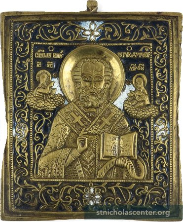 Bronze Russian icon