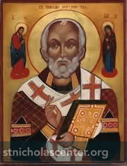 Russian Icon, 19th century - St Nicholas Center Collection
