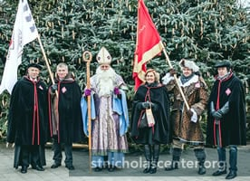 St Nicholas with Association members