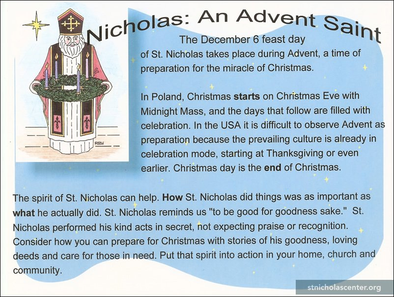 St Nicholas Center Display