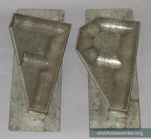 Rubber Concrete Molds Alphabet 115