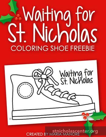 France Christmas Shoe Craft