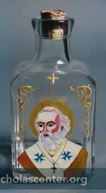 Handpainted Manna Bottle