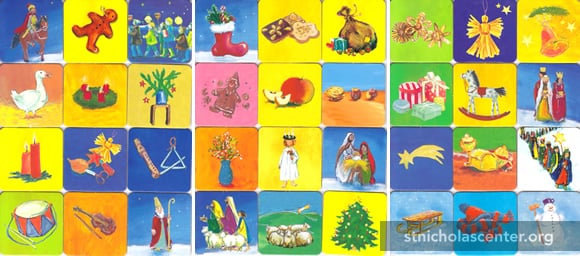 My Memory Game for Advent & Christmas