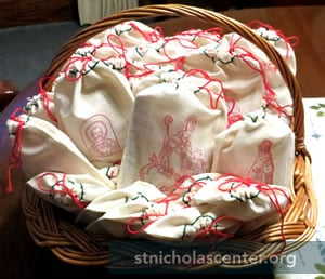 St Nicholas treat basket